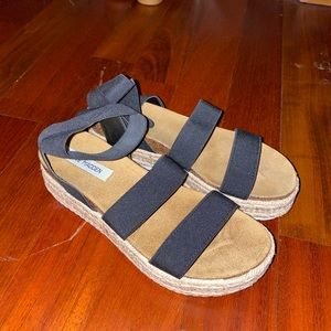 BASICALLY NEW KIMMIE BLACK SANDALS